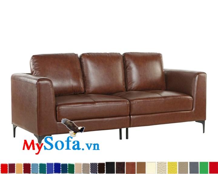 Sofa văng da đẹp cho phòng khách sang trọng