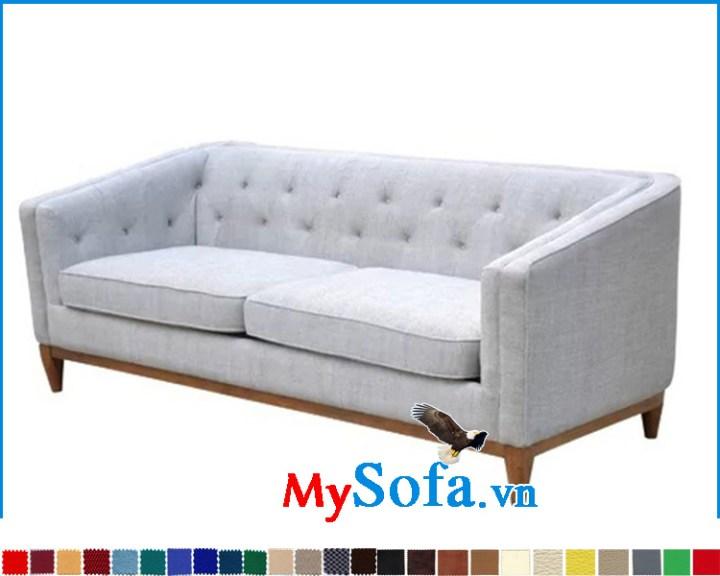 Sofa văng thiết kế đơn giản hiện đại