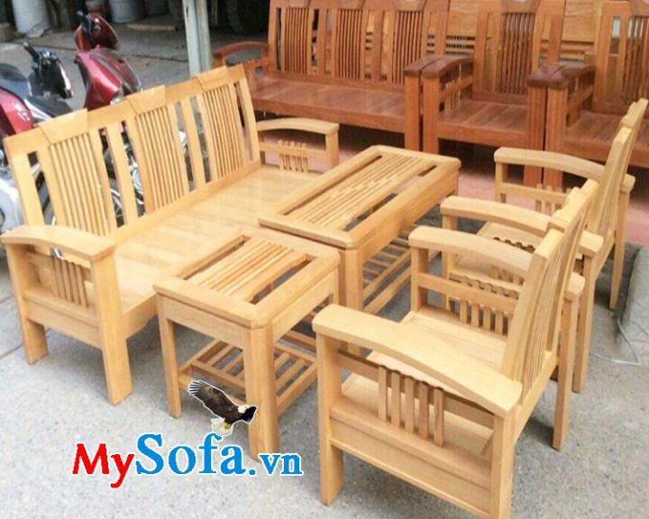 Xưởng sản xuất bàn ghế sofa gỗ tự nhiên đẹp