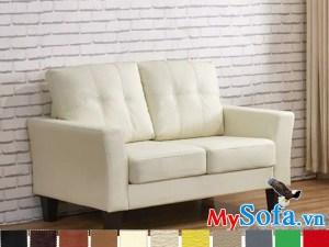 mẫu ghế văng nỉ nhỏ gọn êm ái MyS 0619204 sở hữu màu vải bọc ngoài tươi sáng trẻ trung