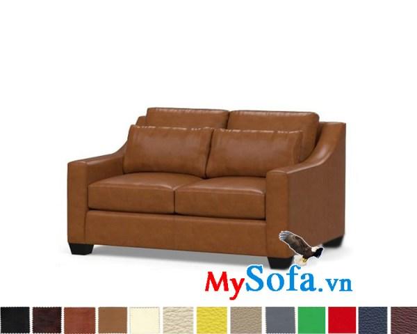Ghế sofa da dạng văng hiện đại