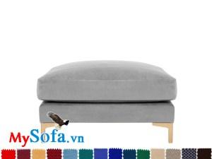 Ghế sofa đôn đẹp hiện đại và sang trọng