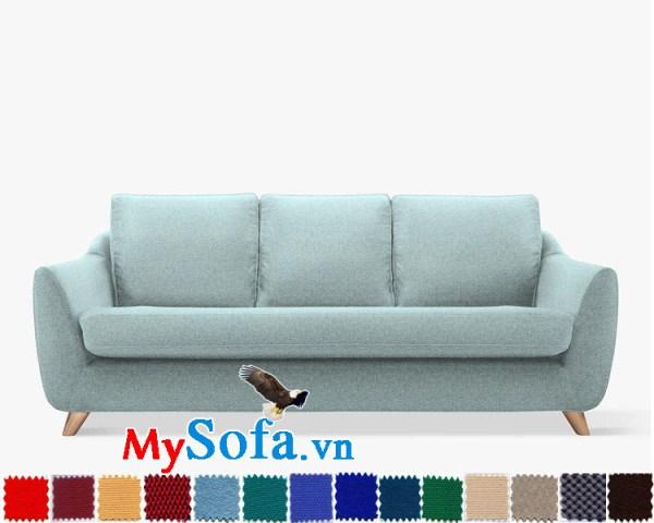Ghế sofa nỉ dạng văng đẹp thiết kế hiện đại và trẻ trung