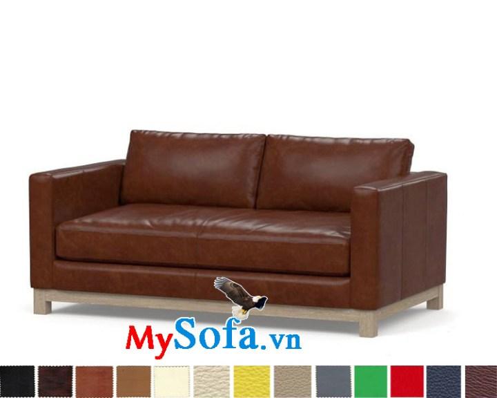 Ghế sofa văng chất da sang trọng