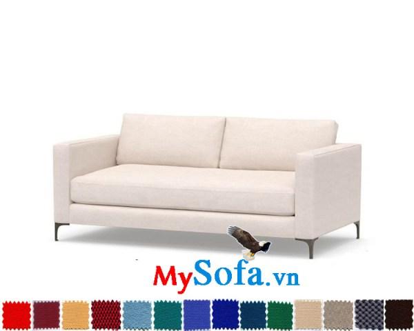 Ghế sofa văng chất nỉ hiện đại và trẻ trung MyS-0619405