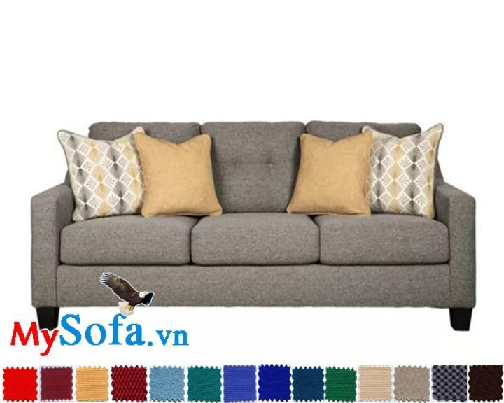 sofa văng 3 chỗ ngồi rộng rãi mys 0619276 mang đến nét đẹp thanh lịch cho phòng khách nhà bạn