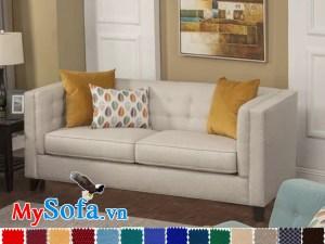 sofa văng hiện đại cho phòng khách nhỏ xinh mys 0619324 có thiết kế gọn nhẹ
