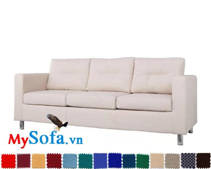 hình ảnh ghế sofa văng nỉ êm ái và hiện đại