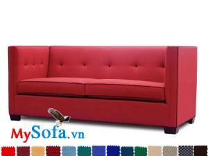sofa đỏ trẻ trung mys 0619294 có thiết kế văng hiện đại, bắt mắt