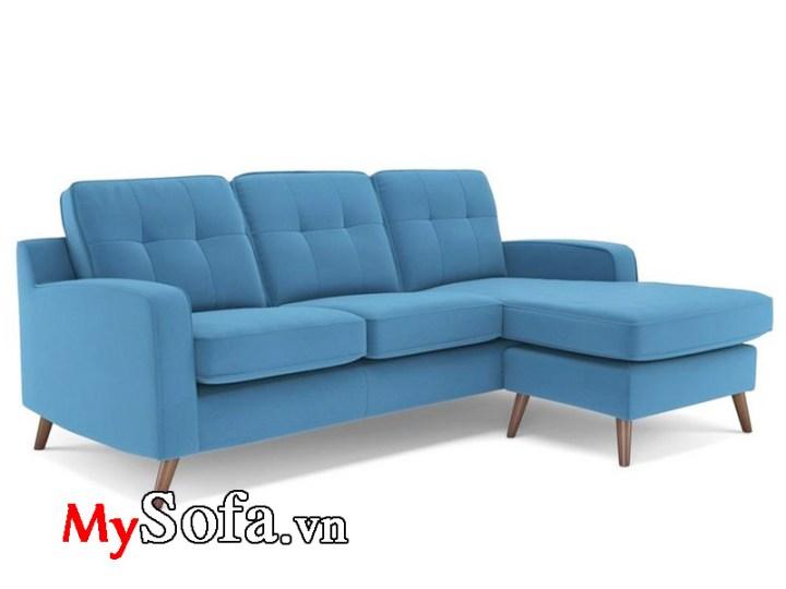 Sofa phòng khách chung cư kiểu góc chữ L