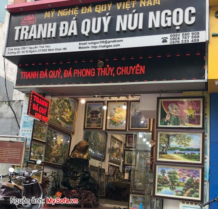 Tranh đá quý núi ngọc 139K Nguyễn Thái Học