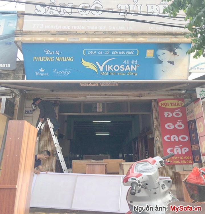 cửa hàng nội thất đồ gỗ Phương Nhung 773 Nguyễn Đức Thuận