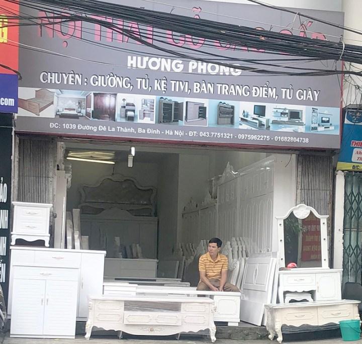 cửa hàng nội thất gia đình Hương Phong 1039 Đê La Thành