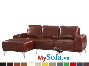 Ghế sofa dạng góc chữ L đơn giản hiện đại