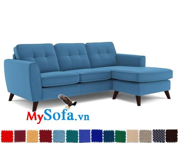 mẫu ghế sô pha góc chữ L cho phòng khách đẹp MyS-1910885