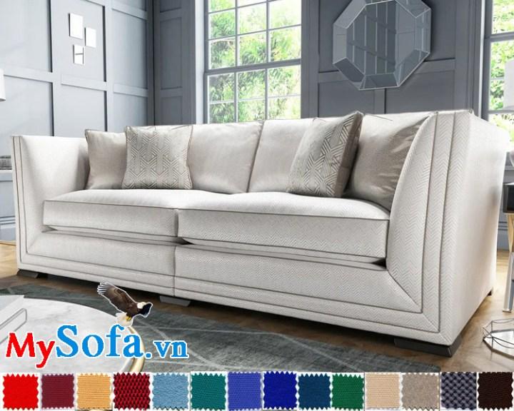sofa văng vải nỉ đẹp 2 chỗ MyS-1910604