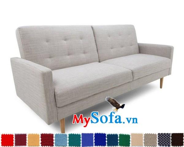 Mẫu sofa nỉ dạng văng thiết kế tiện lợi MyS-1910895