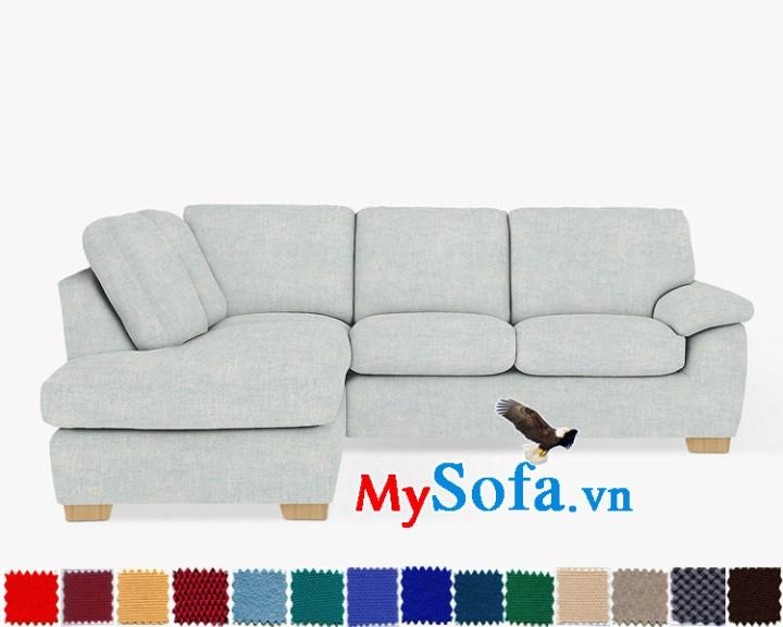Bộ sofa góc nỉ chữ L MyS-1911514