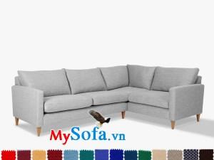 Sofa góc nỉ MyS-1911554