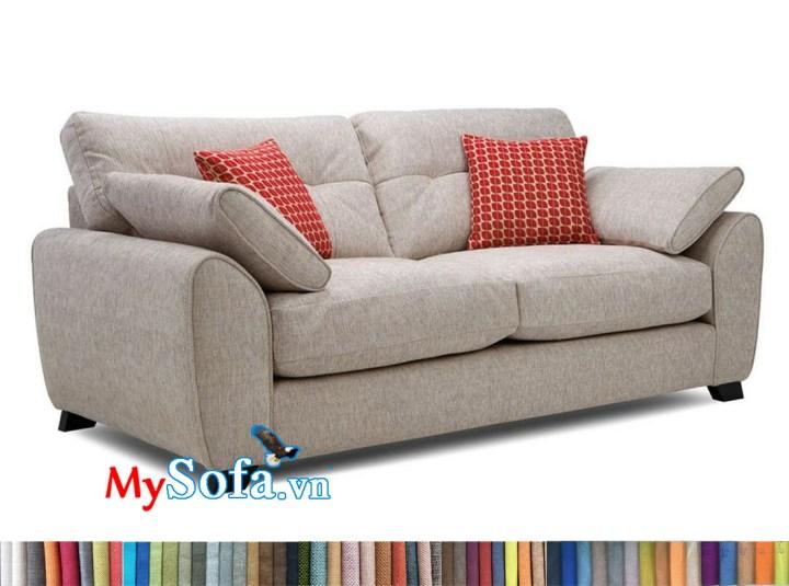 Sofa văng nỉ màu kem MyS-1911615