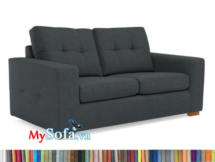 Sofa văng 2 tựa màu ghi tối MyS-1911622