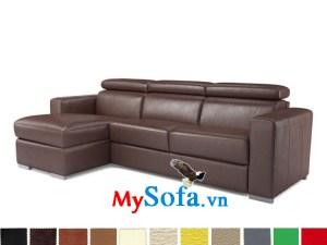Mẫu ghế sofa da đẹp giá rẻ