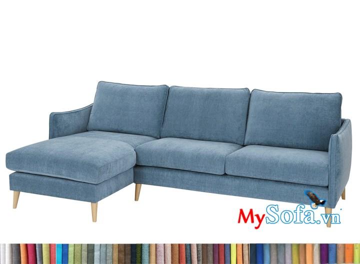 Ghế sofa nỉ đẹp 3 người ngồi