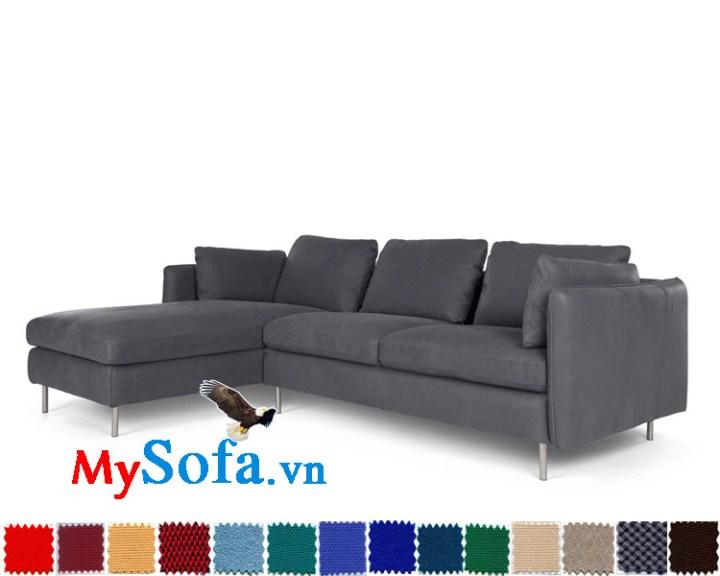 sofa góc chữ L đẹp kê phòng khách MyS-1910617