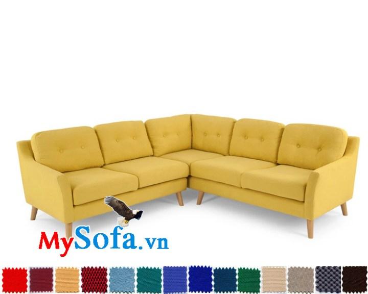Mẫu sofa góc chữ V đẹp giá rẻ MyS-1910642