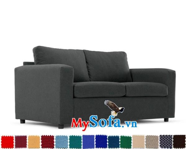 sofa văng chất nỉ cho phòng khách mini MyS-1910639