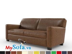 sofa văng da cho phòng làm việc sang trọng MyS-1911571