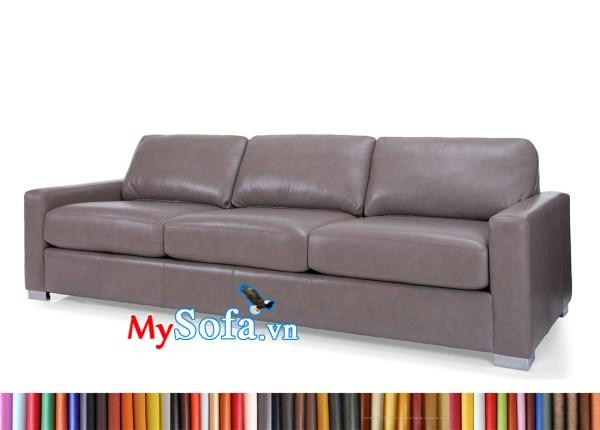 MyS-1912593 Ghế sofa văng dài bọc da sang trọng