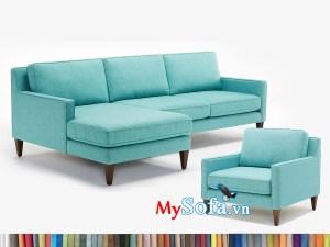 MyS-1912562 Bộ sofa góc nỉ trẻ trung