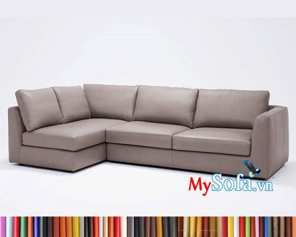 Bộ sofa góc MyS-1912357 kê phòng khách hiện đại