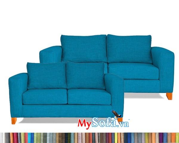 bộ ghế sofa nỉ MyS-1912453 trẻ trung