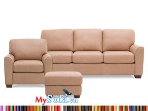 MyS-1912163 bộ sofa văng da sang trọng