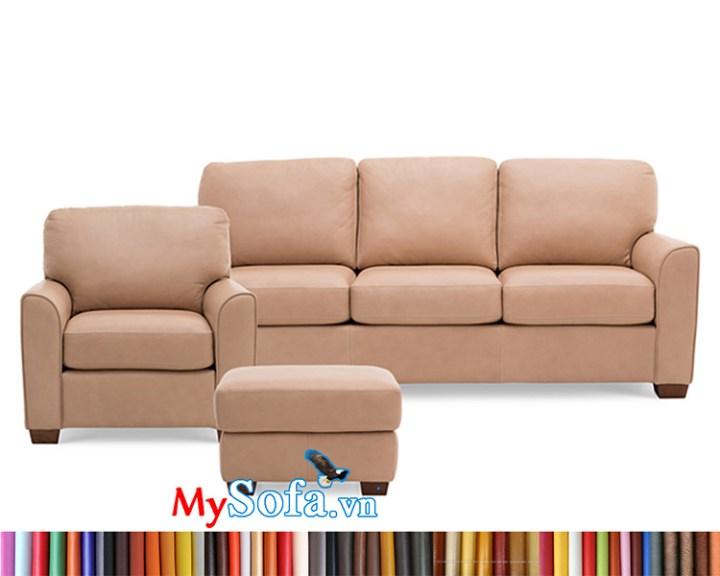 MyS-1912163 bộ sofa da sang trọng