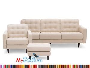 MyS-1912164 bộ sofa da văng hiện đại
