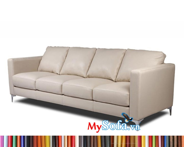 MyS-1912241 mẫu sofa văng da đẹp