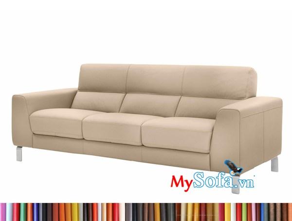 MyS-1912718 Mẫu sofa văng da đẹp sang trọng