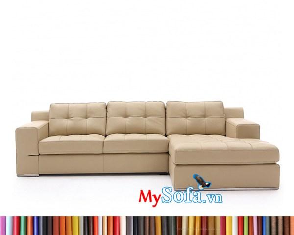 Sofa da MyS-1912364 sang trọng