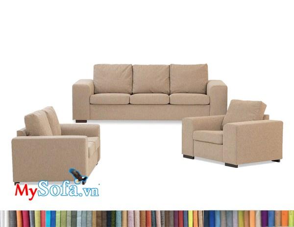 bộ sofa nỉ văng MyS-2001901 đẹp hiện đại