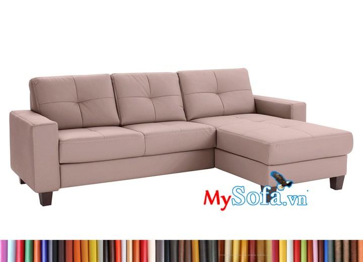 ghế sofa góc chất da đẹp MyS-2001966