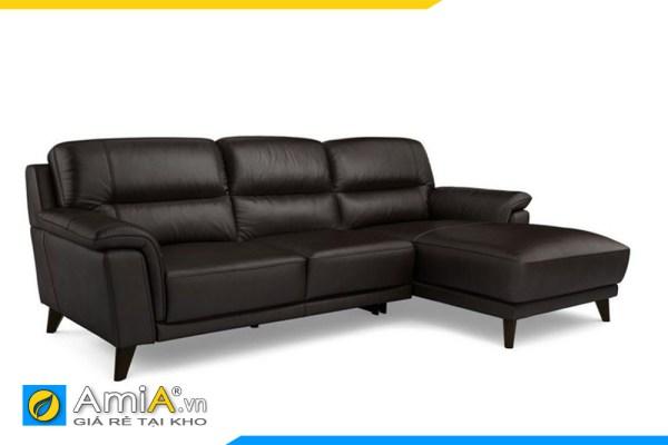 sofa da mau den kieu goc amia sfd20012