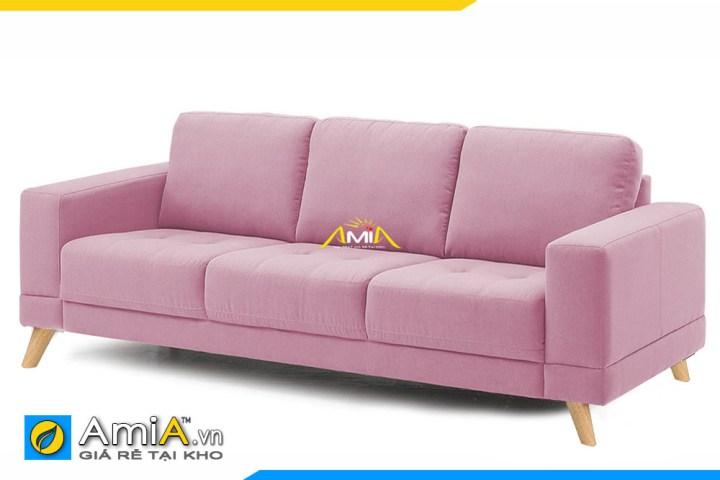 mau ghe sofa vang ni dep mau hong amia sfn20215