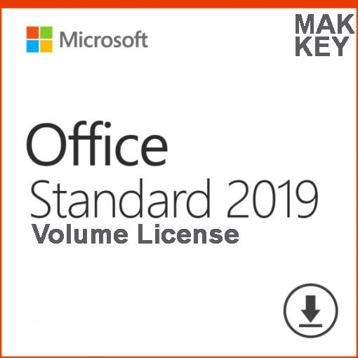 Microsoft Office Standard 2019 (50 PC Activations) MAK