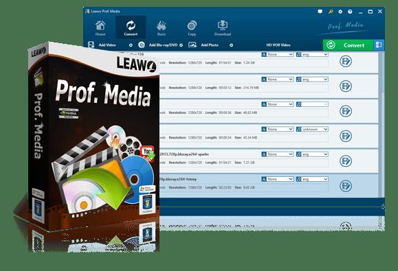 Best Video Converters, Blu-ray/DVD Software, Utilities Tools