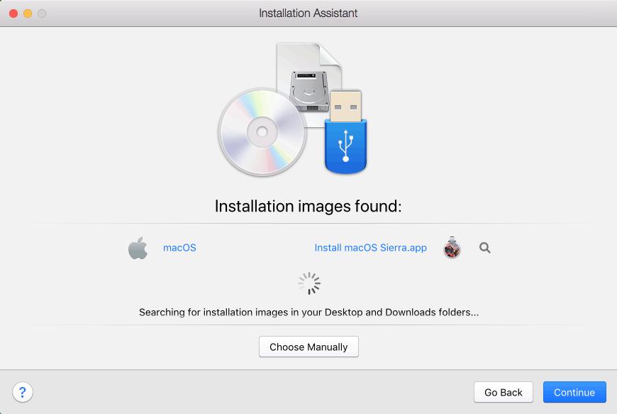 installation image found