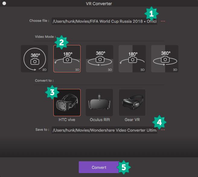 VR Converter Guide