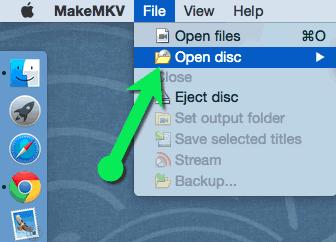 MakeMKV Load Japanese DVD Manually
